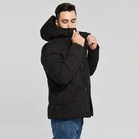 2020 new men jacket winter Warm Windproof detachable hat Men Parkas High Quality Parka Fashion Casual Coat Outwear Windproof