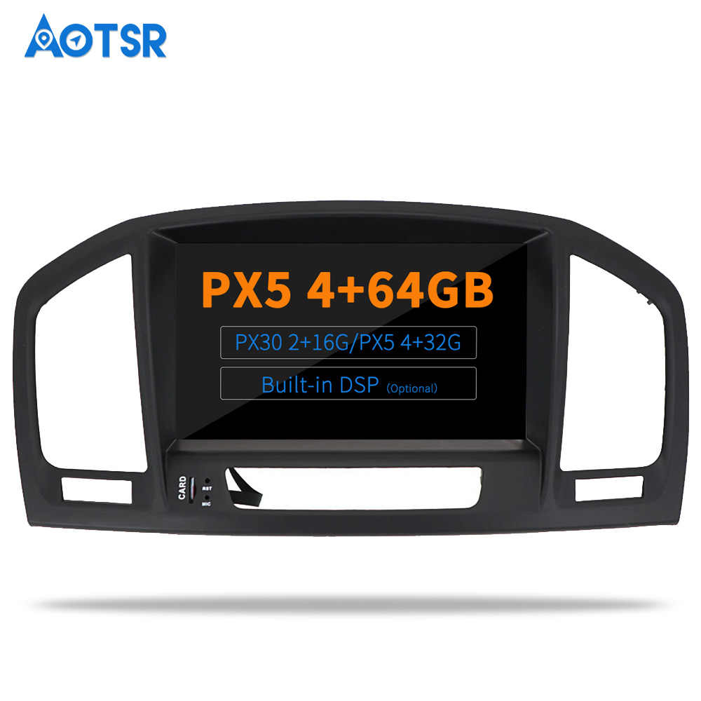 Aotsr Android 9.0 Car DVD Player Radio Stereo NAVI DSP Multimediale per Opel Vauxhall Holden Insignia 2008-2013 GPS di navigazione