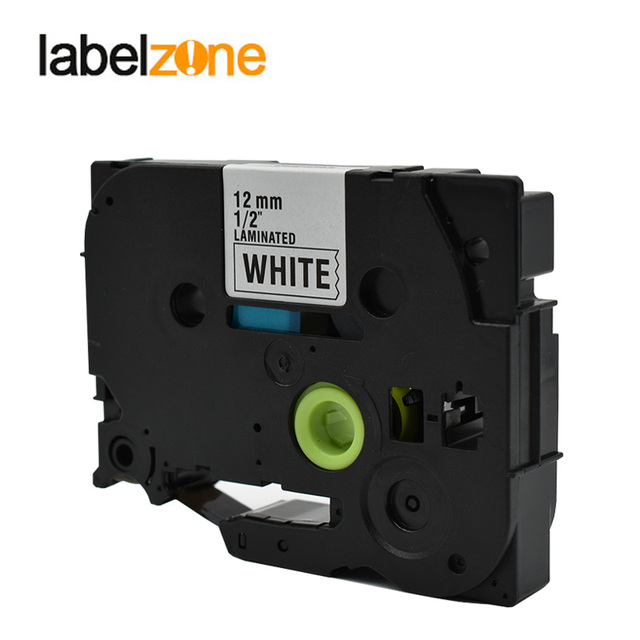30Colors Tze Label Tape Compatible Brother P-touch Printers Tze231 Tze-231 12mm for Brother P Touch Tze PT Labeler Tz631 Tze 335 2