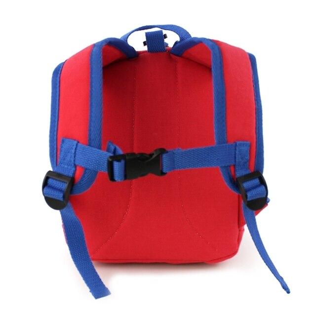 рюкзак для малышей с защитой от потери детская школьная сумка фотография