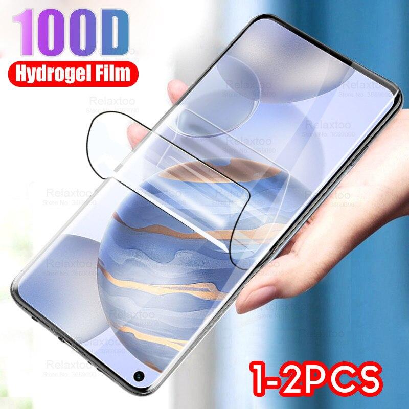 Гидрогелевая пленка для huawei honor 30 premium 30s v 30 pro plus 20 lite 20s 20 lite v20, пленка для экрана телефона, не стеклянная, 1-2 шт.