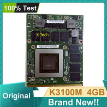 Marke Neue K3100M K3100 4GB N15E-Q1-A2 Display Grafik Video Karte VGA für DELL M6700 M6800 HP 8740W 8760W Arbeits Perfekt