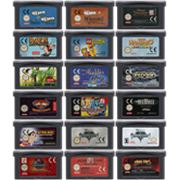 32 Bit Video Game Cartridge Console Card for Nintendo GBA AVG Adventure Game Series English Language Edition