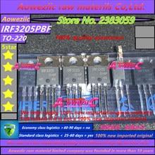 Aoweziic 2019 + (50 PCS) 100% 신규 수입 원본 IRF3205 IRF3205PBF TO 220 인버터 (55V 110A 200W)