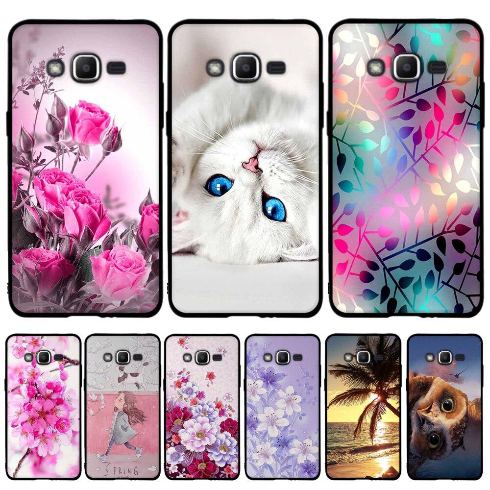 For Samsung Galaxy J2 Prime J1 Mini J1 J3 J5 J7 2015 Case Soft Silicone TPU For Samsung J2 Prime J1 J3 J5 J7 2016 Cover Case