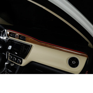 Lsrtw2017 para toyota corolla e170 janela do painel carro engrenagem porta ventilação guarnições acessórios interiores 2014 2015 2016 2017 2018 auto