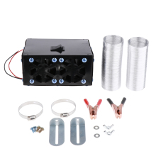 12 В 500 Вт портативный автомобильный обогреватель вентилятор-быстрый нагрев размораживание пространства-универсальный автомобильный тепловой вентилятор ветрового стекла