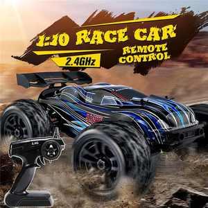 JLB 21101 RC гоночный автомобиль 1:10 4WD CHEETAH 120A обновленная модель 1/10 бесщеточный Радиоуправляемый игрушечный внедорожный автомобиль для скалола...
