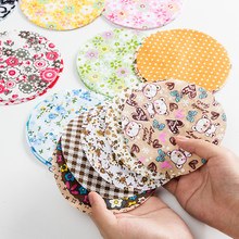 7pcs/lot Hexagonal and round yoyo Printed Cotton Fabric Patchwork Fabrics Quilting for Sewing doll homemade Accessories TJ0425(China)