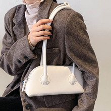 Simple Style Small PU Leather Shoulder Underarm Bags For Women 2021 Fashion Women's Brand Handbag and Purse Lady Travel Tote Bag