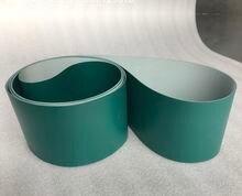 2000x100x08 мм чернильно зеленый полиуретановый конвейер пищевой