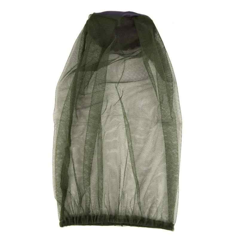 1PC Outdoor Protezione Solare Zanzara Reti Da Pesca Della Protezione A Prova di Insetto Protezione Solare Velo Anti Ape Cap Parasole Traspirante Commercio All'ingrosso di Sport