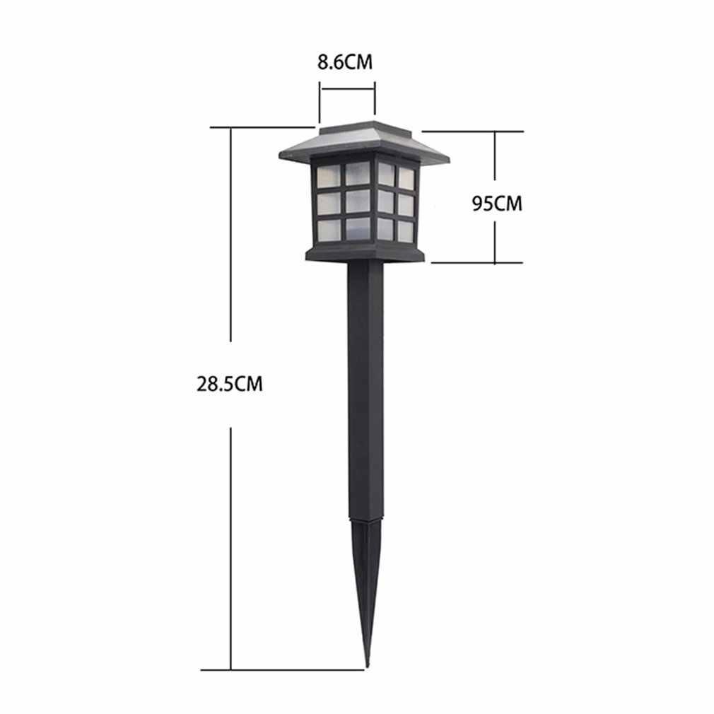 Solar Lights LED Decorative Columns Post Lantern Pole Lamp Pathway Garden Light Landscape Lighting Patio Yard Deck Path