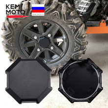 Kemimoto roda pneu aro hub centro tampa capa para polaris rzr 1000 rzr 900 s 1000 xp turbo 1000 xp turbo 2014 2015 2016 2017