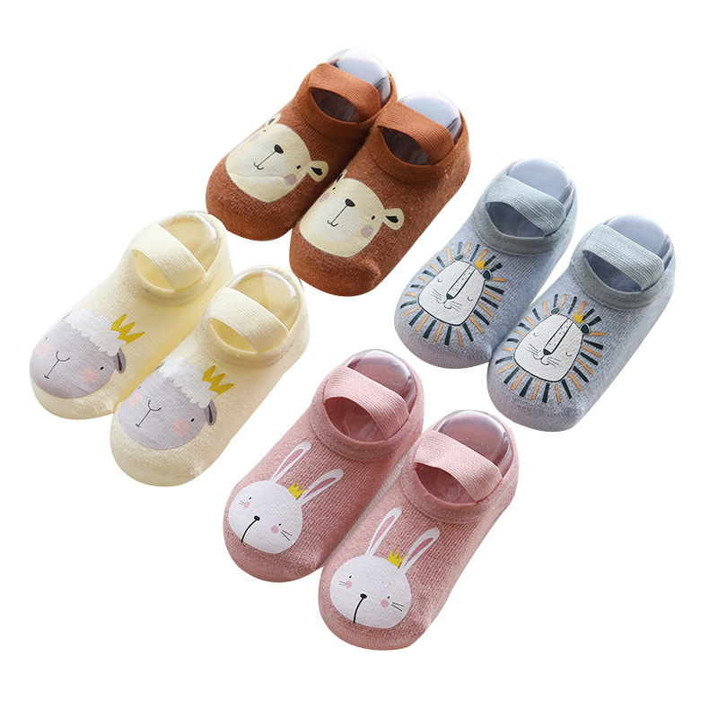 Non-slip Baby Socks Spring Autumn Cotton Socks Toddler Boys Girls Floor Socks Infant Clothing Accessories