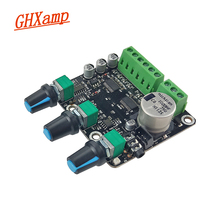 GHXAMP 2.1 CH 15*2 + 30W płyta wzmacniacza subwoofera TPA3110D2 Sub Audio Stereo AUX NE5532 dla wysokiej klasy głośnik komputerowy DC 12V 24V