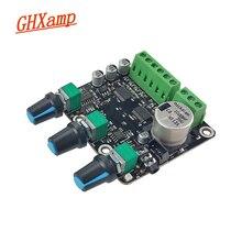 Placa amplificadora GHXAMP 2,1 CH 15x2 + 30W, para Subwoofer TPA3110D2, subaudio estéreo AUX NE5532, para altavoz de ordenador de alta gama 24V DC 12V