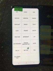 Image 3 - מקורי AMOLED עם מסגרת לסמסונג גלקסי S8 + בתוספת G955A G955U G955F G955V LCD תצוגת מסך מגע הרכבה עם נקודות