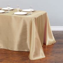 Table-Cover Wedding-Tablecloth Stain-Fabric Rectangle Christmas Party White Home