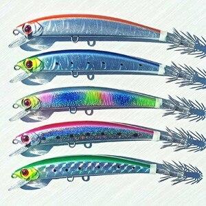 Image 1 - 5 шт., 14 см/23 г, тонущий джиг осьминог, джиг кальмар, искусственная жесткая приманка для рыбной ловли