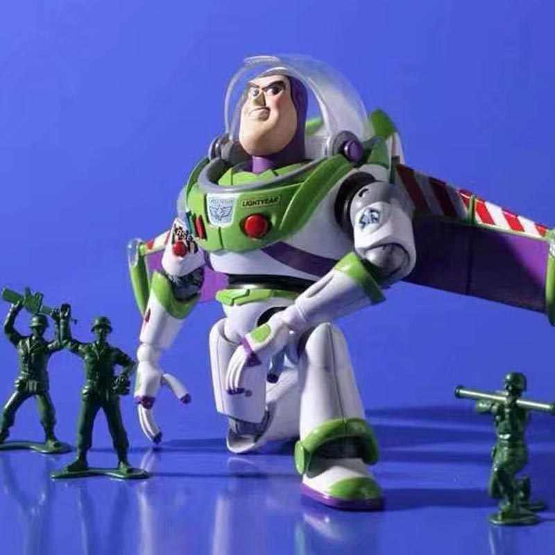 Toy Story Buzz Lightyear 4 Collectible Boneca Action Figure Toy Kids pode Presente de Aniversário filme para chindren