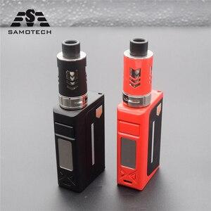 Nowy X12 100w vape ciecz elektroniczny papieros led parownik 3.5ml 2000mah waporyzator box mod zestaw szisza vaper vs Polar noc 150w