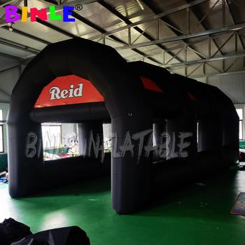 8x4x3 5 metrów kolor zablokowany reklama nadmuchiwany tunel nadmuchiwany tunel namiot nadmuchiwany łuk czarny namiot na imprezę plenerową tanie i dobre opinie BINLE Tkanina 12 + y CN (pochodzenie) nadmuchiwany bramkarz Nadmuchiwana trampolina BINLE-ST168523 China Pu coated Oxford fabric