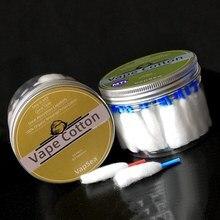 VapSea grande boîte Vape coton laine 66 Pack MTL bio Prime électronique Cigarette bacon pour RDA RTA RBA atomiseur bobine