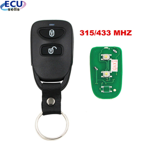 2 Buttons Replacement Remote Control Key 315MHz or 433MHZ for Hyundai Tucson