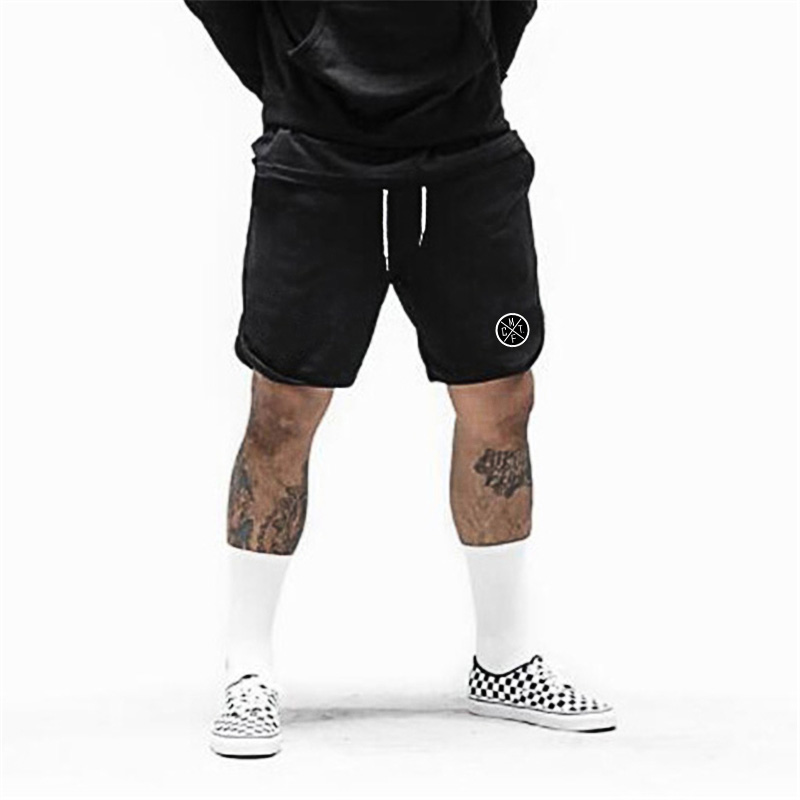 Muscleguys Gym Shorts Men Bodybuilding Clothing Fitness Mens Mesh Sporting Basketball Workout Joggers Shorts With Pocket