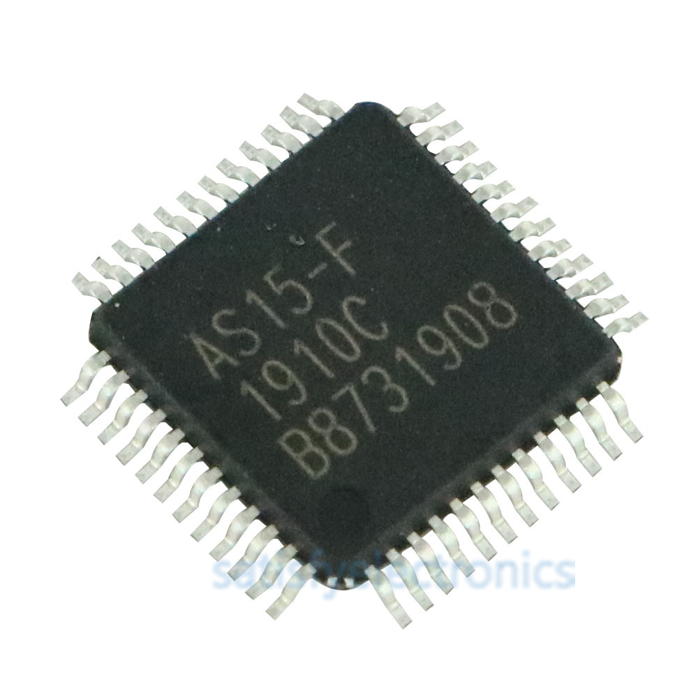 5PCS/LOT AS15-F <font><b>AS15F</b></font> AS15-f <font><b>AS15f</b></font> <font><b>QFP48</b></font> AS15 Original LCD chip E-CMOS image