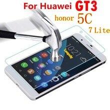 Vidro temperado para huawei gt3 gt 3 honra 7 lite 7 honra 5c NEM-TL00H NEM-UL10 para huawei protetor de tela película protetora