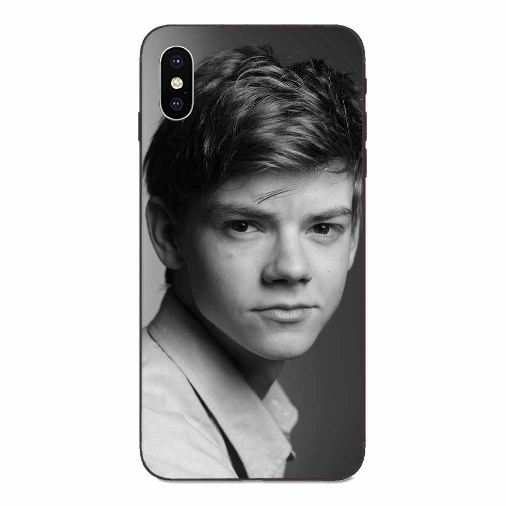 רך חמוד עור ילד תומאס Sangster אנגלית שחקן עבור Apple iPhone 4 4S 5 5S SE 6 6S 7 8 בתוספת X XS Max XR
