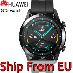 Ship From EU HUAWEI Watch GT 2 GT2 Smart Watch Blood Oxygen SmartWatch 14 Days Phone Call Heart Rate Tracker For Android iOS