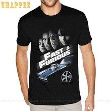 Fast & furious 8 crime ação filme manga curta tshirt S-6XL para camisetas de design masculino
