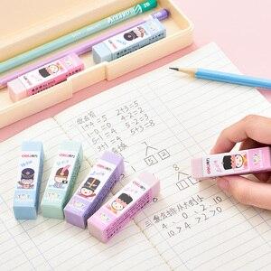 Image 4 - 36 sztuk cukierkowe kolory gumka miękkie pcv 4B gumka do ołówka prawidłowe pisanie błąd szkoła Test remis projekt wytrzeć Clen praca domowa 3045
