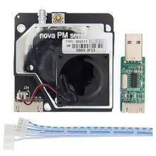 10 stücke PM sensor SDS011 Hohe präzision laser pm 2,5 air qualität erkennung sensor modul Super staub staub sensoren, digital ausgang