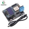Макетная плата ESP8266 IoT + датчик влажности DHT11 + органический светодиодный дисплей 0,96 дюйма, программирование Φ, модуль Wi-Fi, плата маленькой сис...