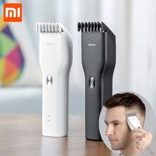 Электрическая машинка для стрижки волос Xiaomi Enchen Boost, двухскоростная керамическая машинка для стрижки волос, быстрая зарядка, триммер для волос для детей