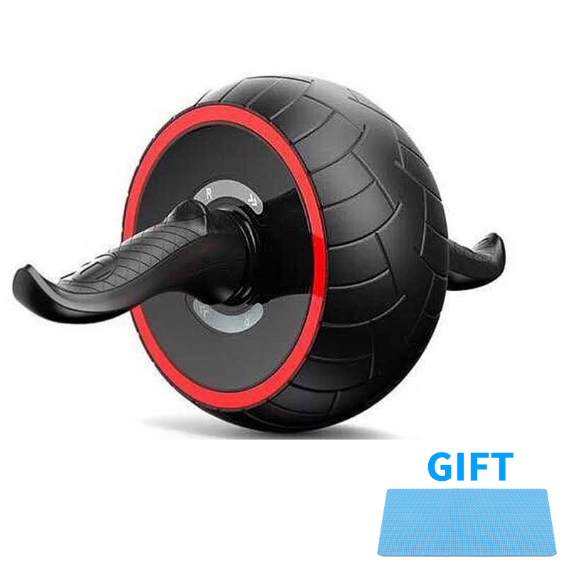 Ab Roller Wheel Exercise Wheel for Home Gym Fitness Equipment Accessories Perfect Fitness Ab Roller for Core Workouts image