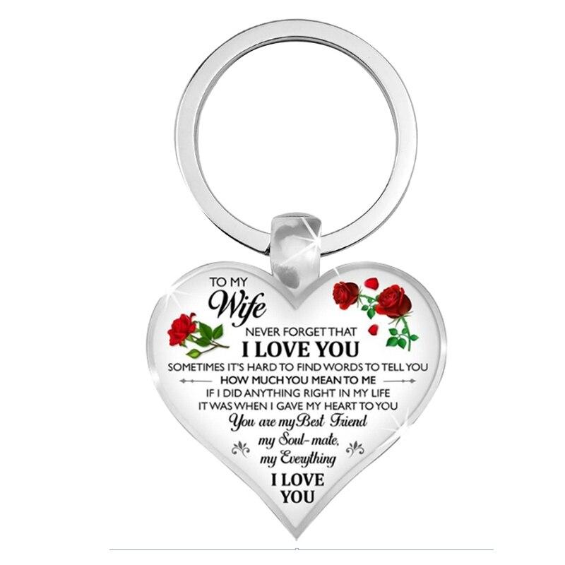 keychain to wife