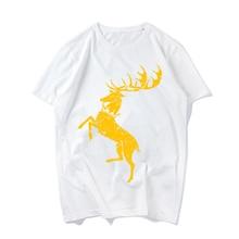Summer O-neck Short-sleeve Tshirt The Game Of Throne Printing Short Sleeve Tees For Girls Women Fashion T-shirt Female Tee Shirt