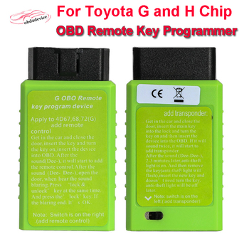 For To-yota Key Program G and H Chip Vehicle OBD Remote Key Programming Device For To-yota G and H OBD Remote Key Programmer фото