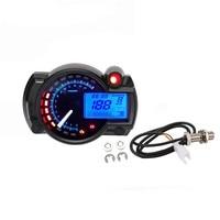 שינוי מהיר LCD Waterproof שינוי אופנוע אופנוע קוד שולחן דיגיטלי מד מרחק מד מהיר 7 צבעים מתכוונן כלי נגינה (3)