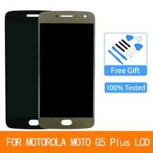 ЖК-дисплей для Motorola Moto G5 Plus XT1685 XT1680 XT1684 XT1683 сенсорный экран дигитайзер стекло в сборе Запасная часть