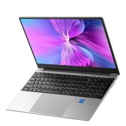 15,6 pulgadas 8GB RAM 256 SSD de 512GB Notebook intel J3160 E8000 Quad Core portátiles de 1920*1080 IPS Win10 slim computadora portátil