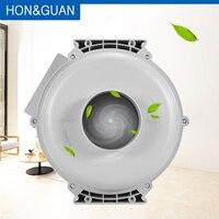 4 8 8 polegada de plástico redondo ultra silencioso ventilador centrífugo ventilador de exaustão circular ventilador de ar hidropônico para crescer ventilação sala|Exaustores| |  -