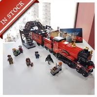 H Potter Magic Express Train 75955 11006 Building Block 800+Pcs Bricks Toy Gifts Kit Movie 16055 75954 75948 75957 75958 75952