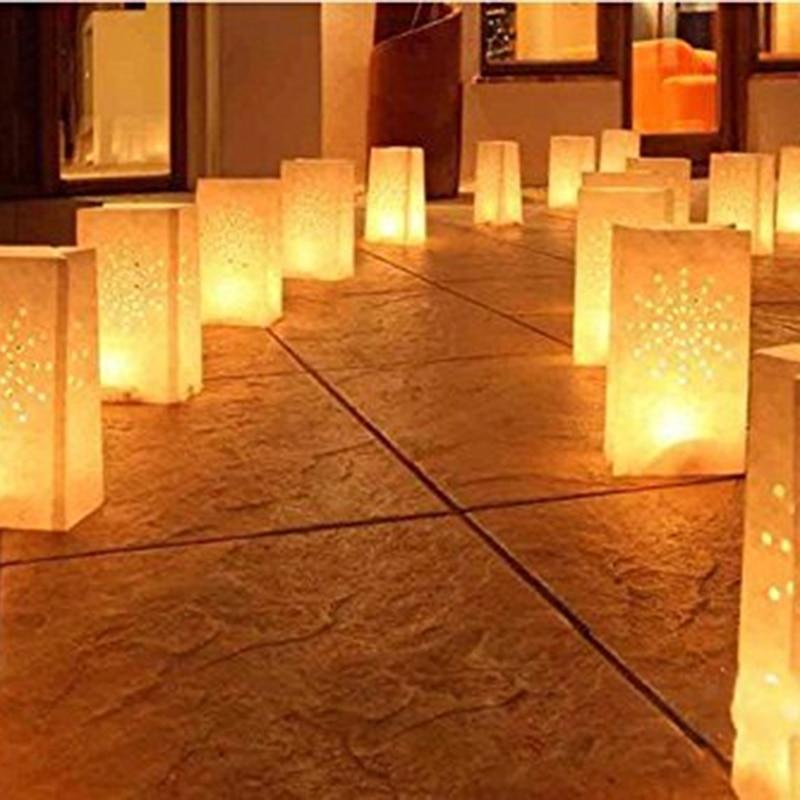 Candle Lantern Stars Tea Light Holder