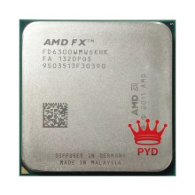 CPU Processor AMD Fx 6300 Am3  95w-Socket Six-Core Fx-Series